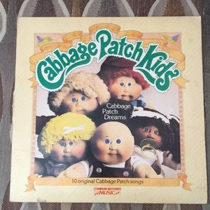 💜Vintage Cabbage Patch vinyl record 1984